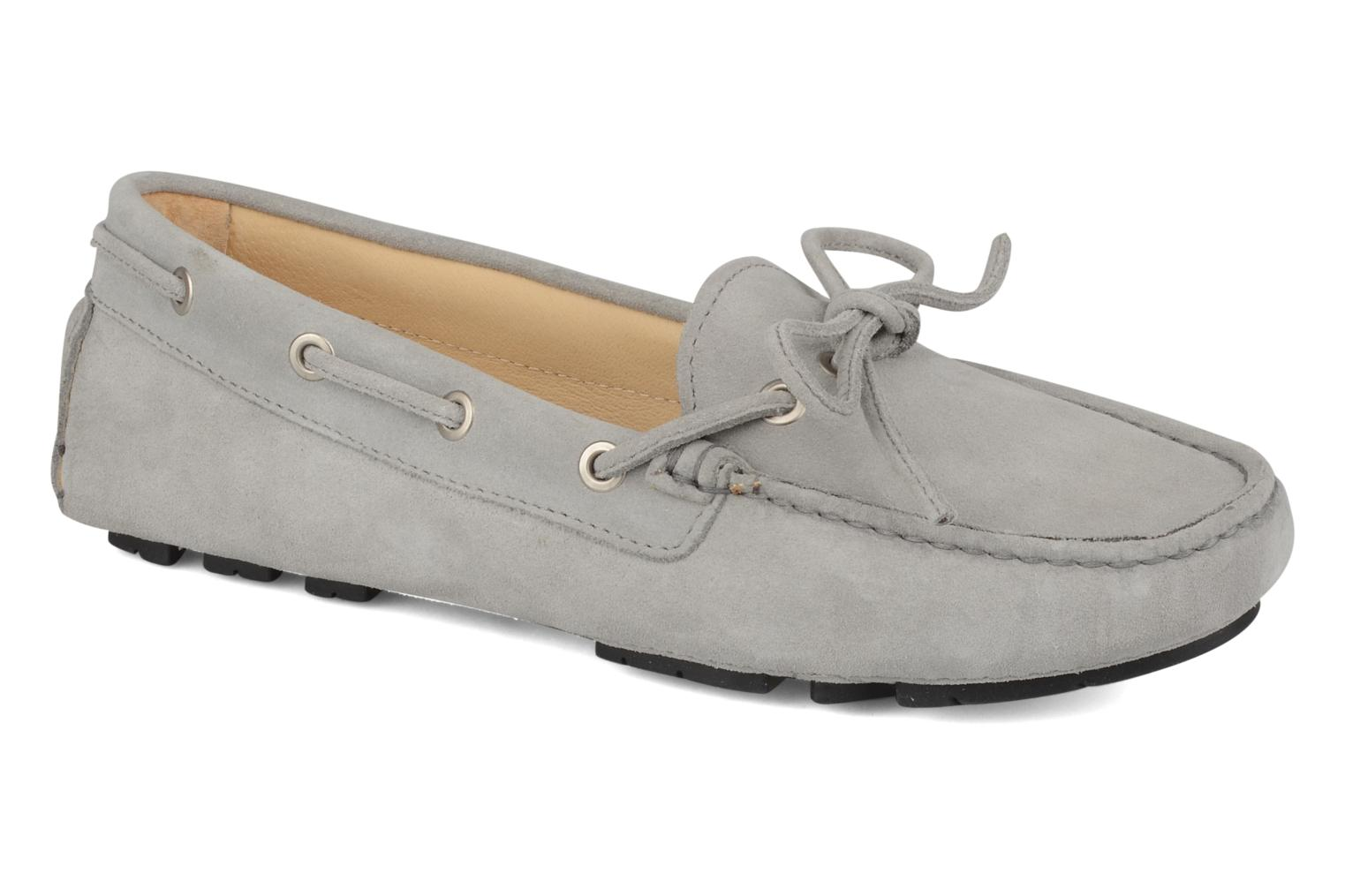 Loafers Georgia Rose Vinelle Grey detailed view/ Pair view