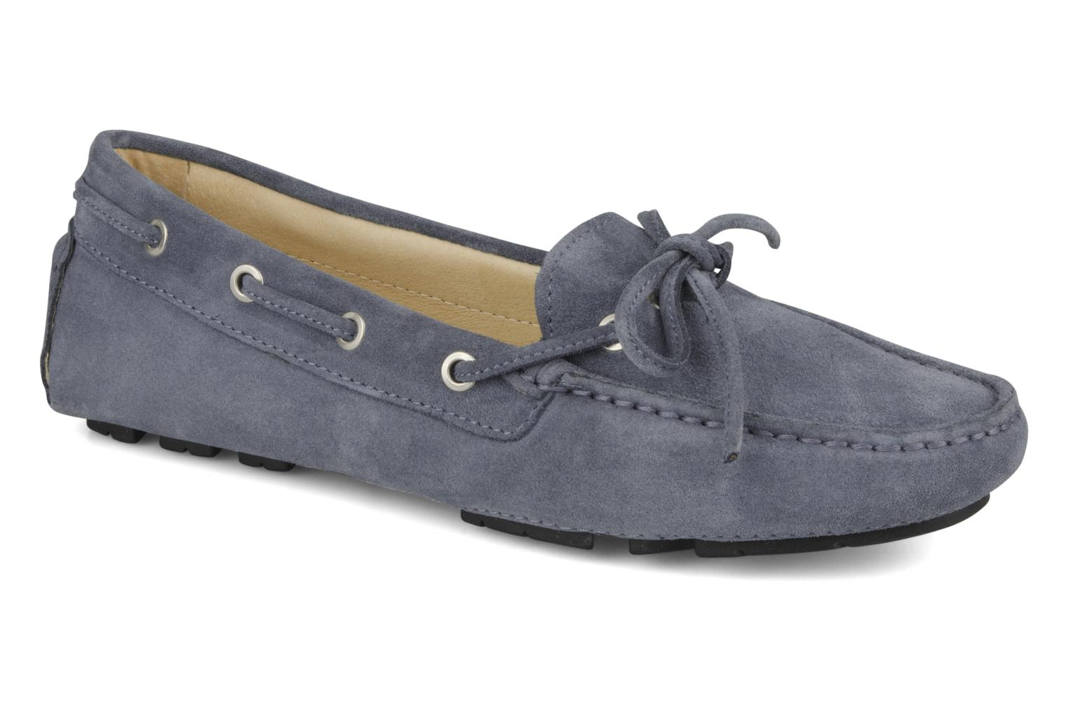 Loafers Georgia Rose Vinelle Blue detailed view/ Pair view