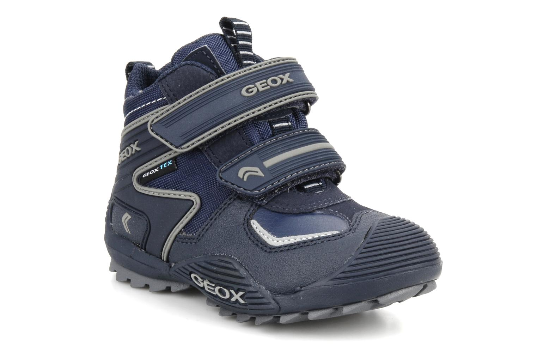 Sneakers Geox B savage wp b Azzurro vedi dettaglio/paio