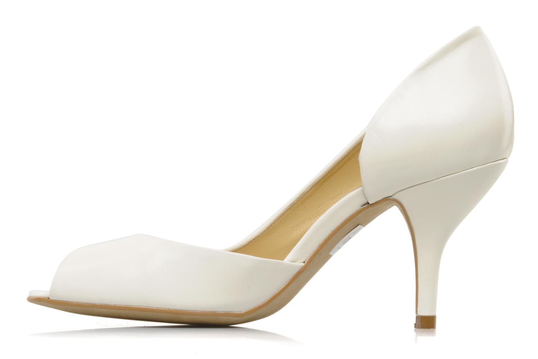 Zapatos de tacón Georgia Rose Alige Blanco vista de frente