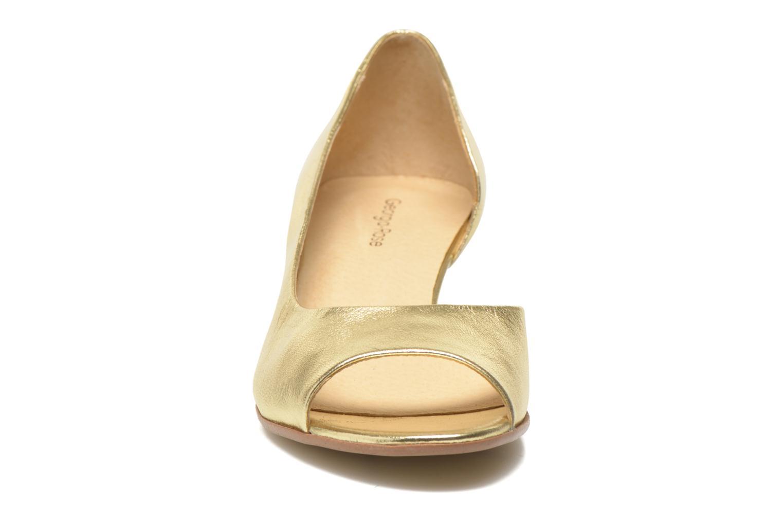 Høje hæle Georgia Rose Phoeti Guld og bronze se skoene på