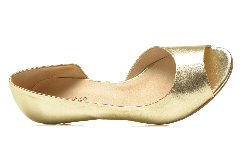 Høje hæle Georgia Rose Phoeti Guld og bronze se fra venstre