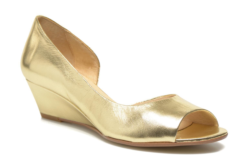 Høje hæle Georgia Rose Phoeti Guld og bronze detaljeret billede af skoene
