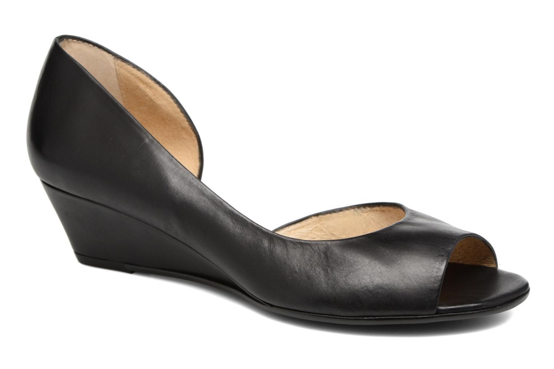 High heels Georgia Rose Phoeti Black detailed view/ Pair view