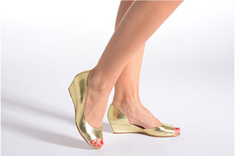 Zapatos de tacón Georgia Rose Phoeti Negro vista de abajo