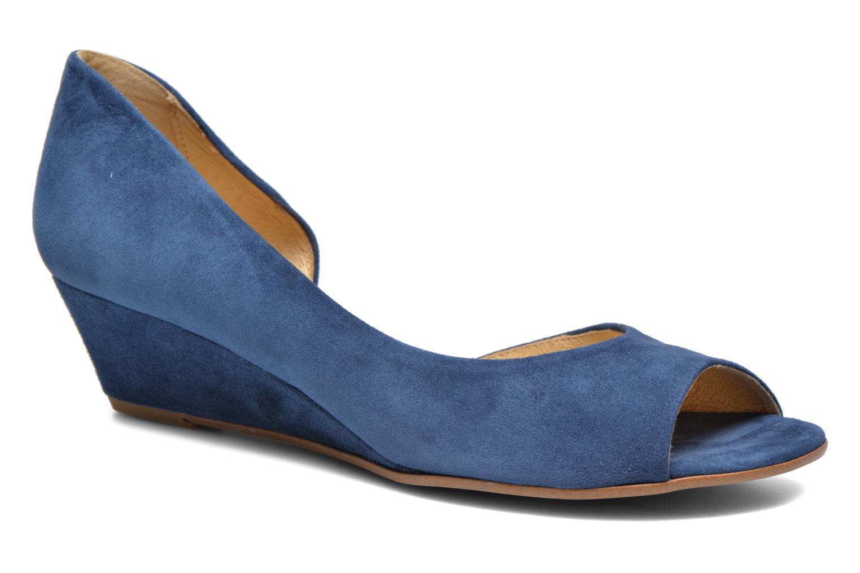 Escarpins Georgia Rose Phoeti Bleu vue détail/paire