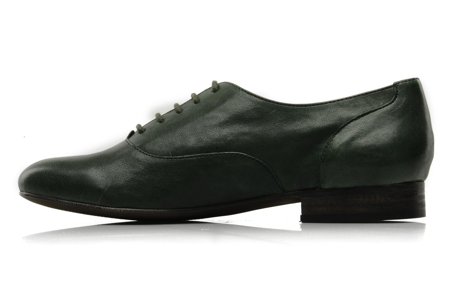 Lace-up shoes Georgia Rose Messia Green front view