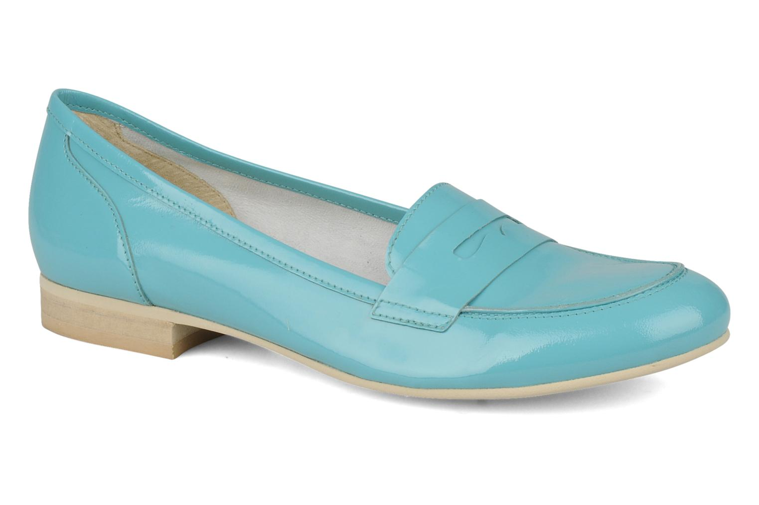 Loafers Georgia Rose Afuro Blue detailed view/ Pair view