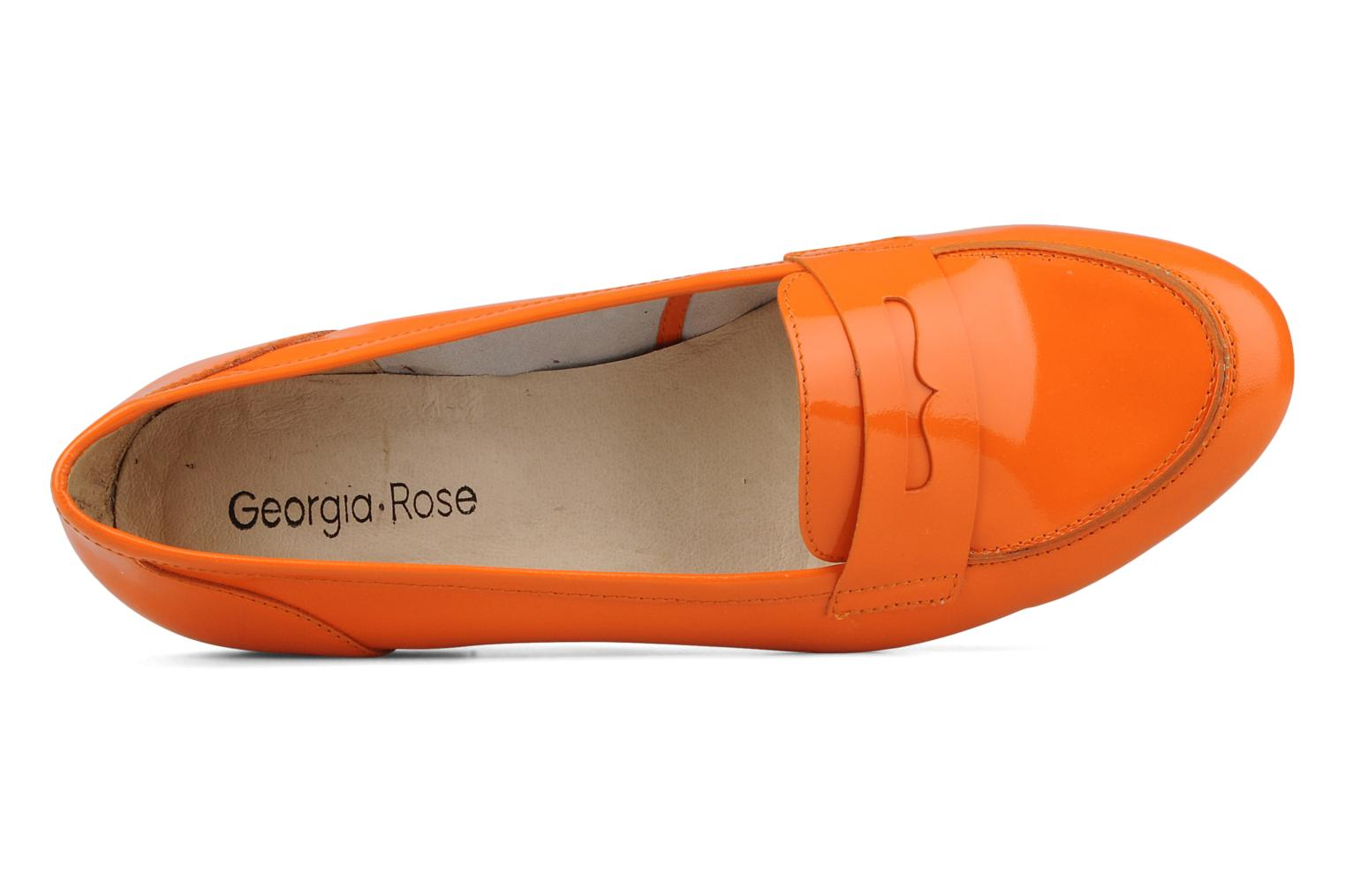 Loafers Georgia Rose Afuro Orange view from the left