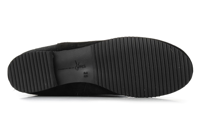 Stiefel Tosca Blu Shoes Acerra schwarz ansicht von oben