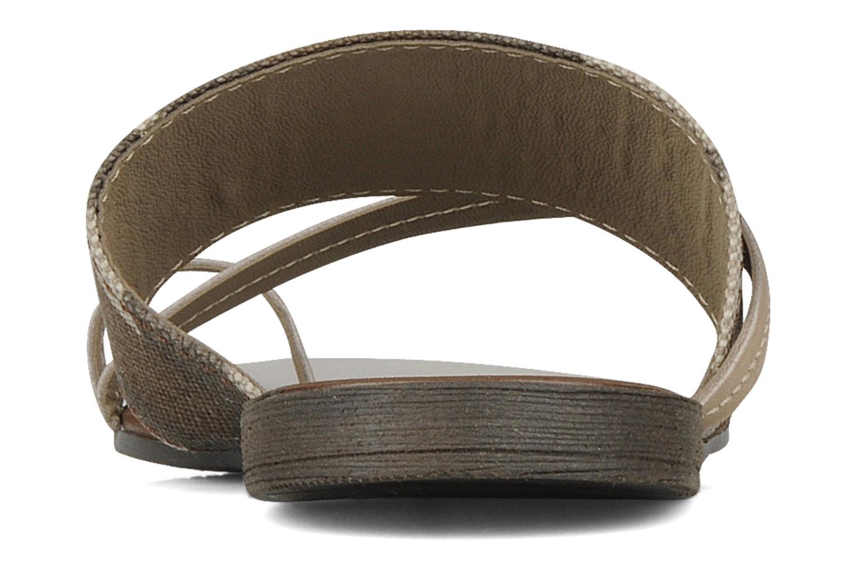 Sandales et nu-pieds Eden Tanza Vert vue droite