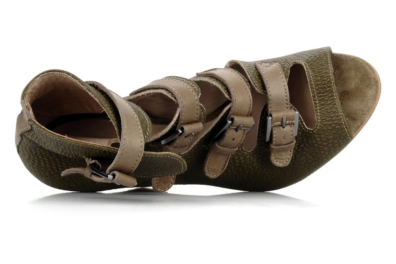 Buckle sandal Brown