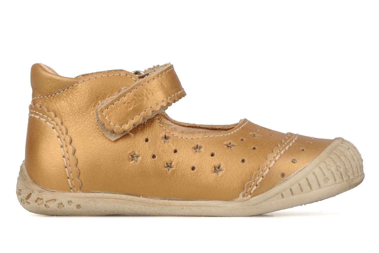 Stiefeletten & Boots Babybotte Stars gold/bronze ansicht von hinten