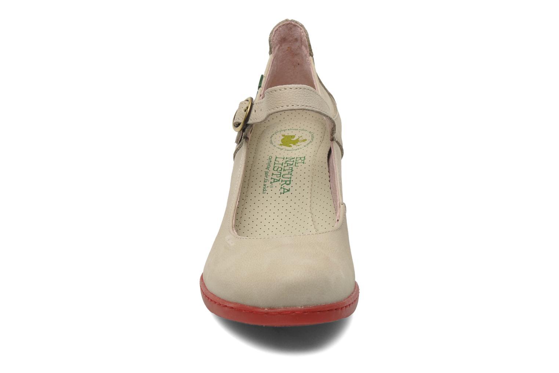 Zapatos de tacón El Naturalista Solar no860 Beige vista del modelo