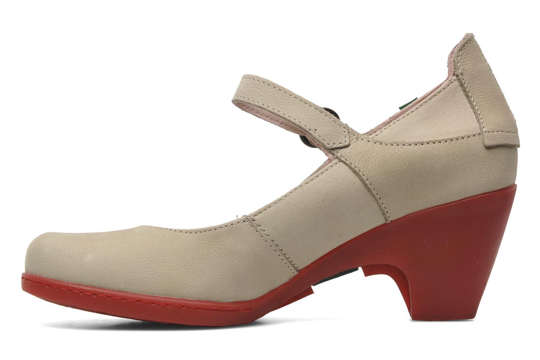 Zapatos de tacón El Naturalista Solar no860 Beige vista de frente