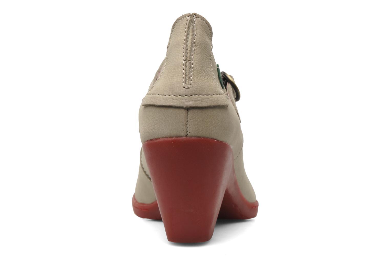 Zapatos de tacón El Naturalista Solar no860 Beige vista lateral derecha