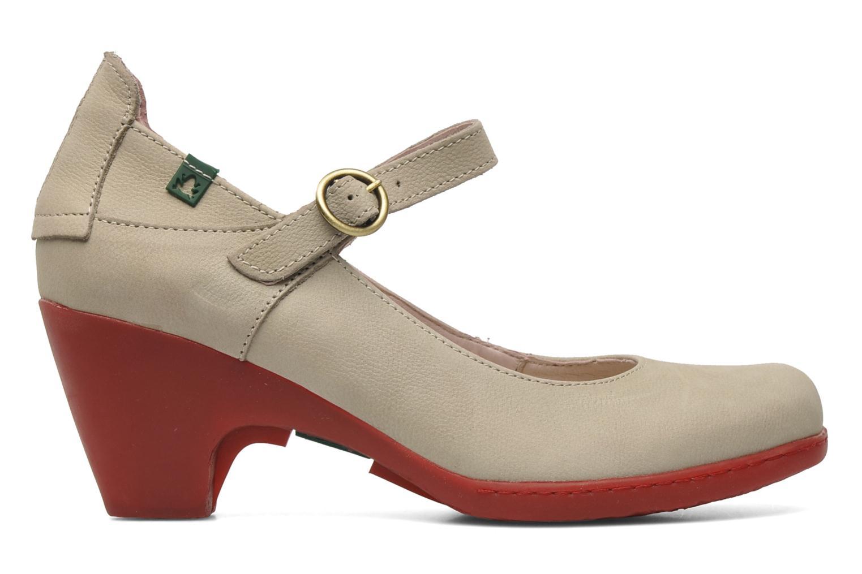 Zapatos de tacón El Naturalista Solar no860 Beige vistra trasera