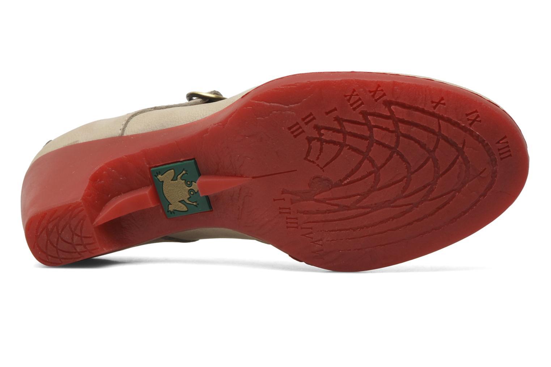 Zapatos de tacón El Naturalista Solar no860 Beige vista de arriba