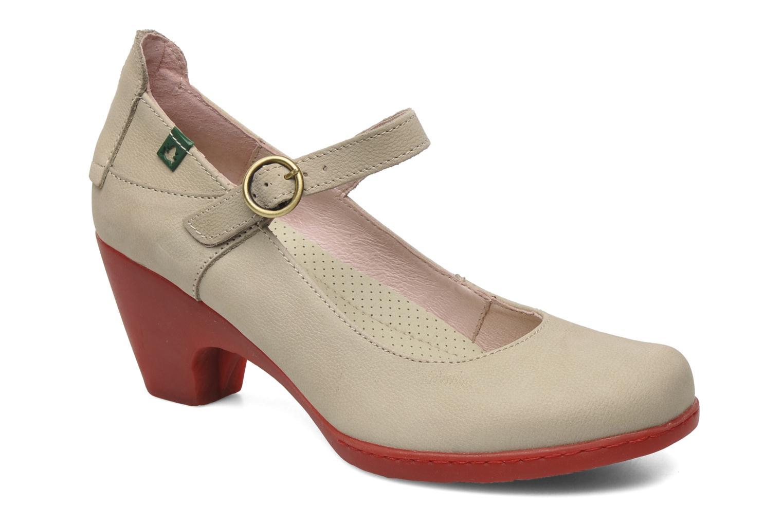 Zapatos de tacón El Naturalista Solar no860 Beige vista de detalle / par