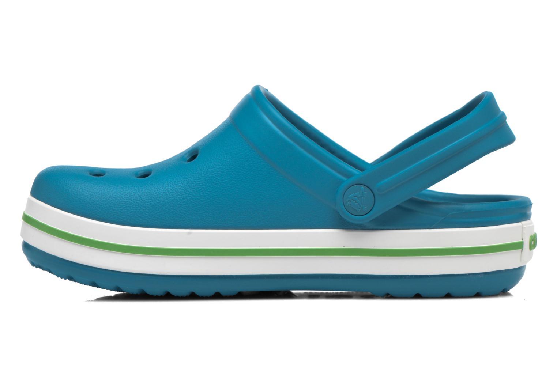 Sandaler Crocs Crocband kids Blå se forfra