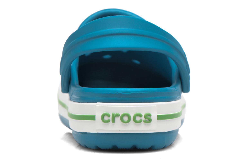 Sandalias Crocs Crocband kids Azul vista lateral derecha