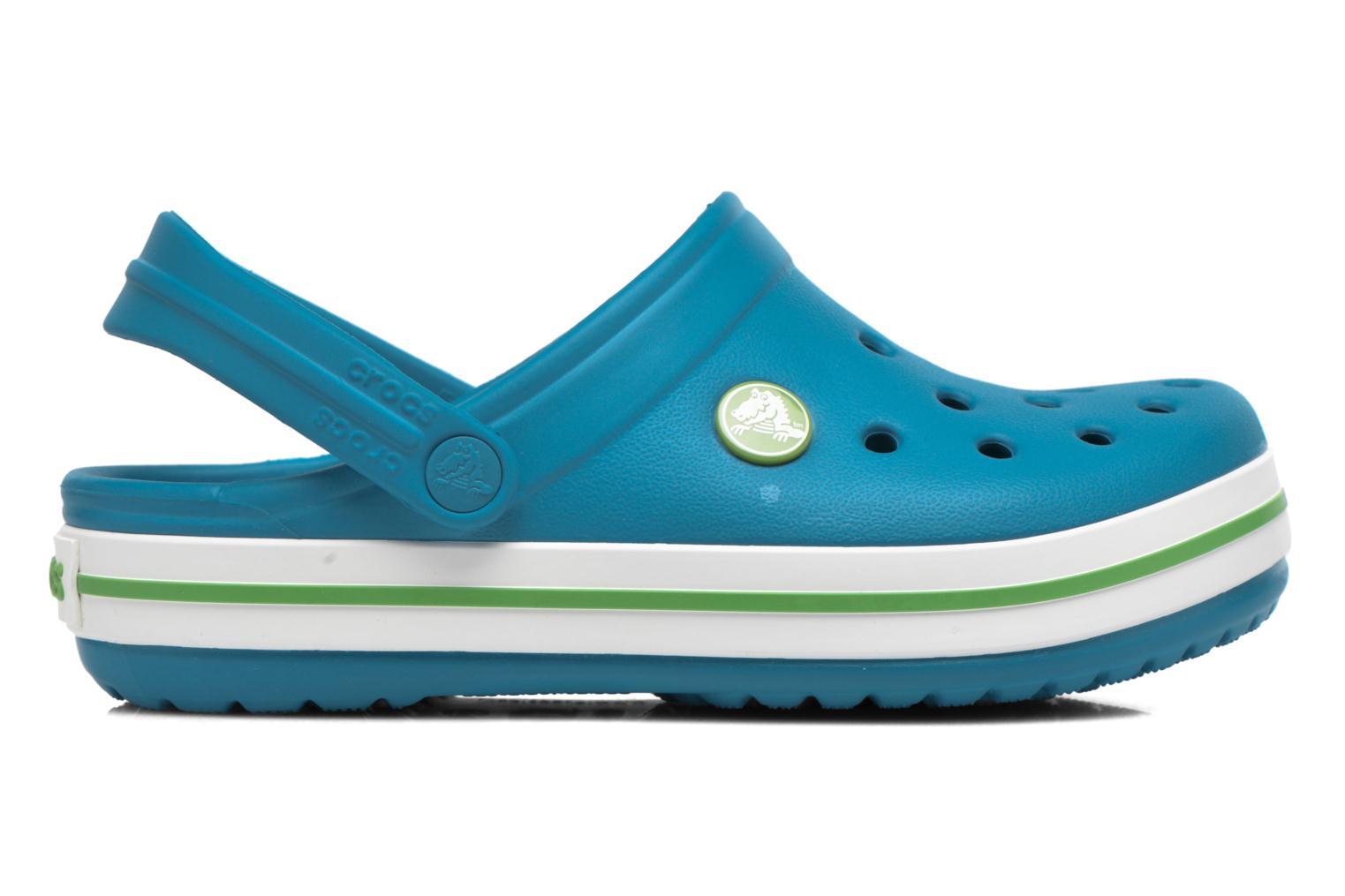 Sandaler Crocs Crocband kids Blå se bagfra