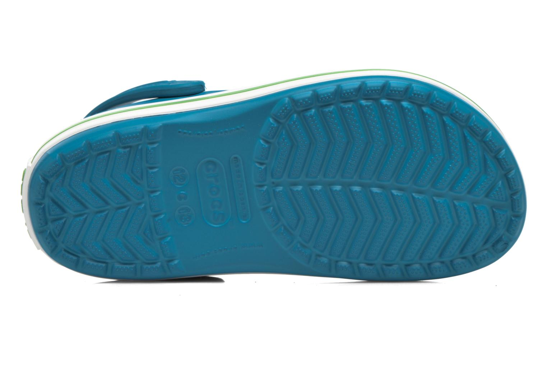 Sandalias Crocs Crocband kids Azul vista de arriba