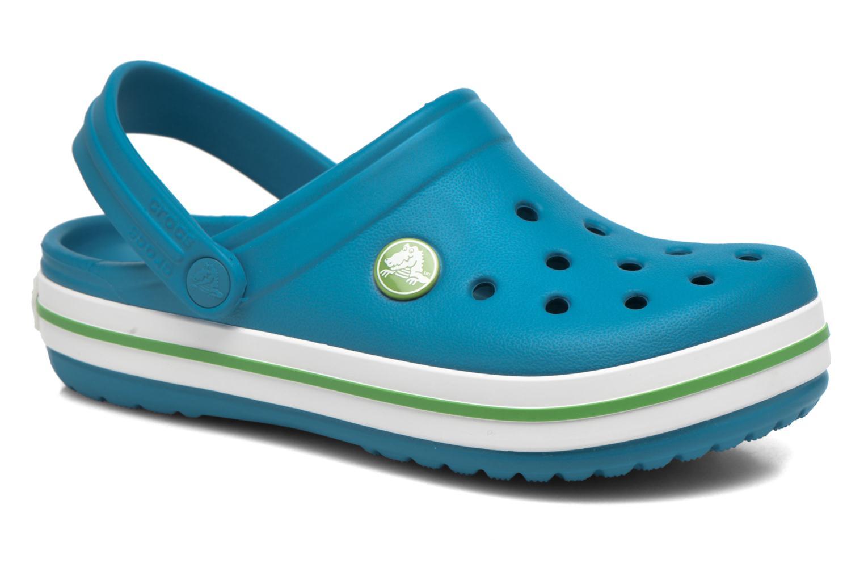 Sandaler Crocs Crocband kids Blå detaljeret billede af skoene