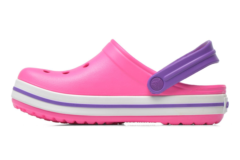 Sandalen Crocs Crocband kids rosa ansicht von vorne