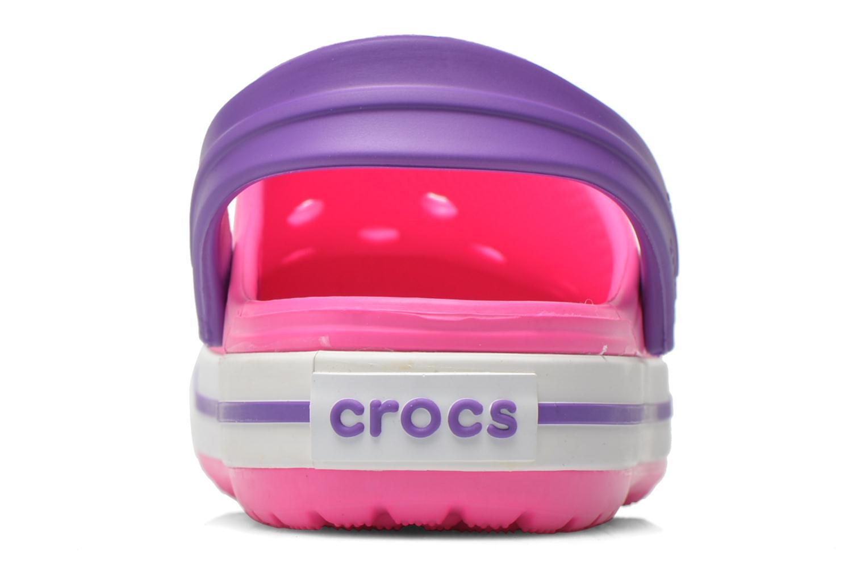 Sandaler Crocs Crocband kids Pink Se fra højre