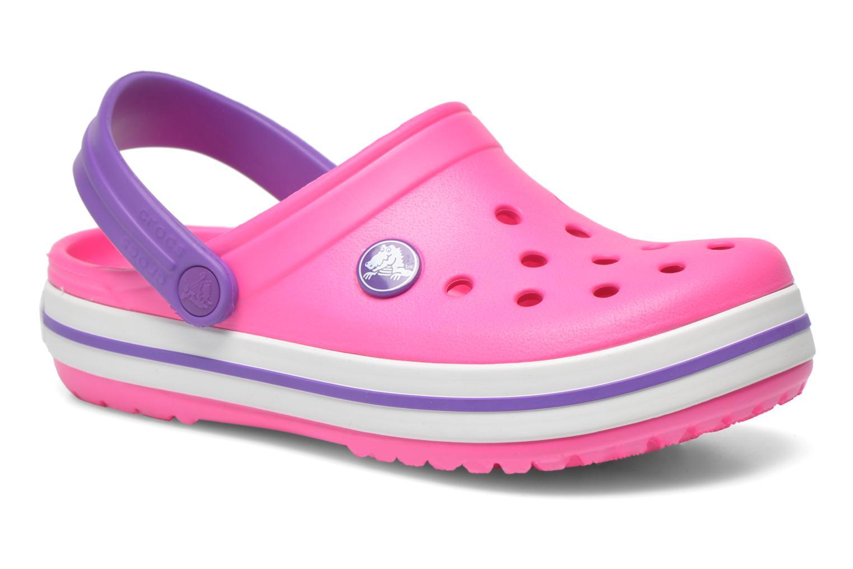 Sandaler Crocs Crocband kids Pink detaljeret billede af skoene