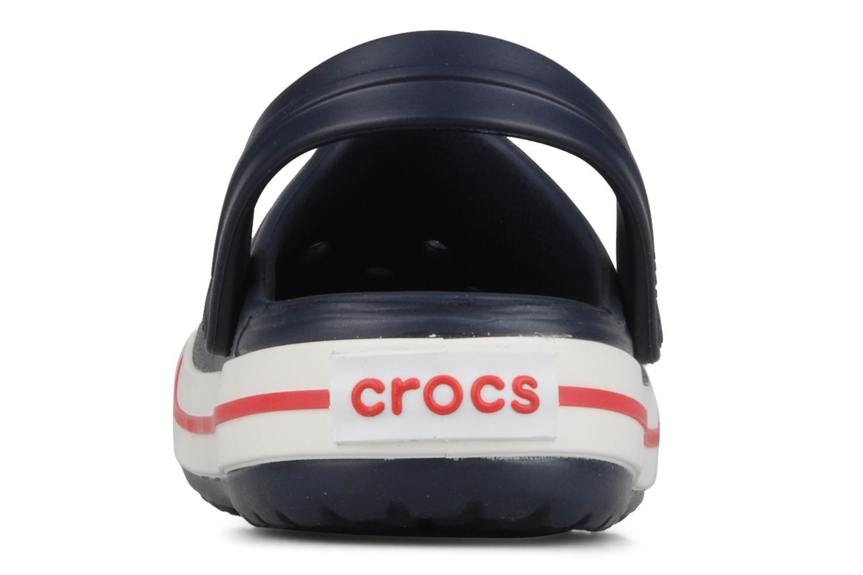 Sandalen Crocs Crocband kids blau ansicht von rechts