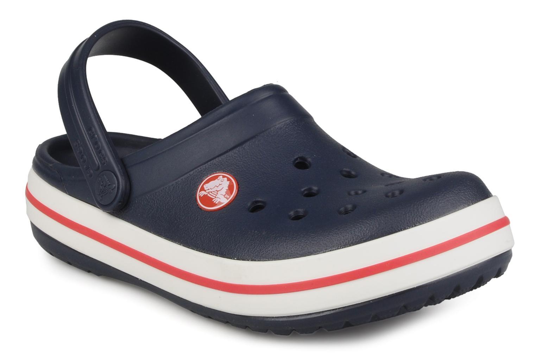 Sandals Crocs Crocband kids Blue detailed view/ Pair view