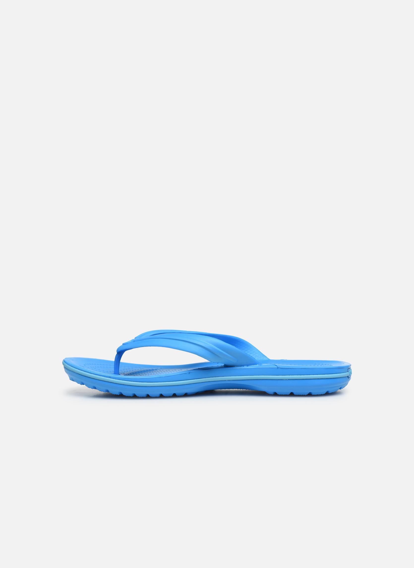 Infradito Crocs Crocband Flip M Azzurro immagine frontale