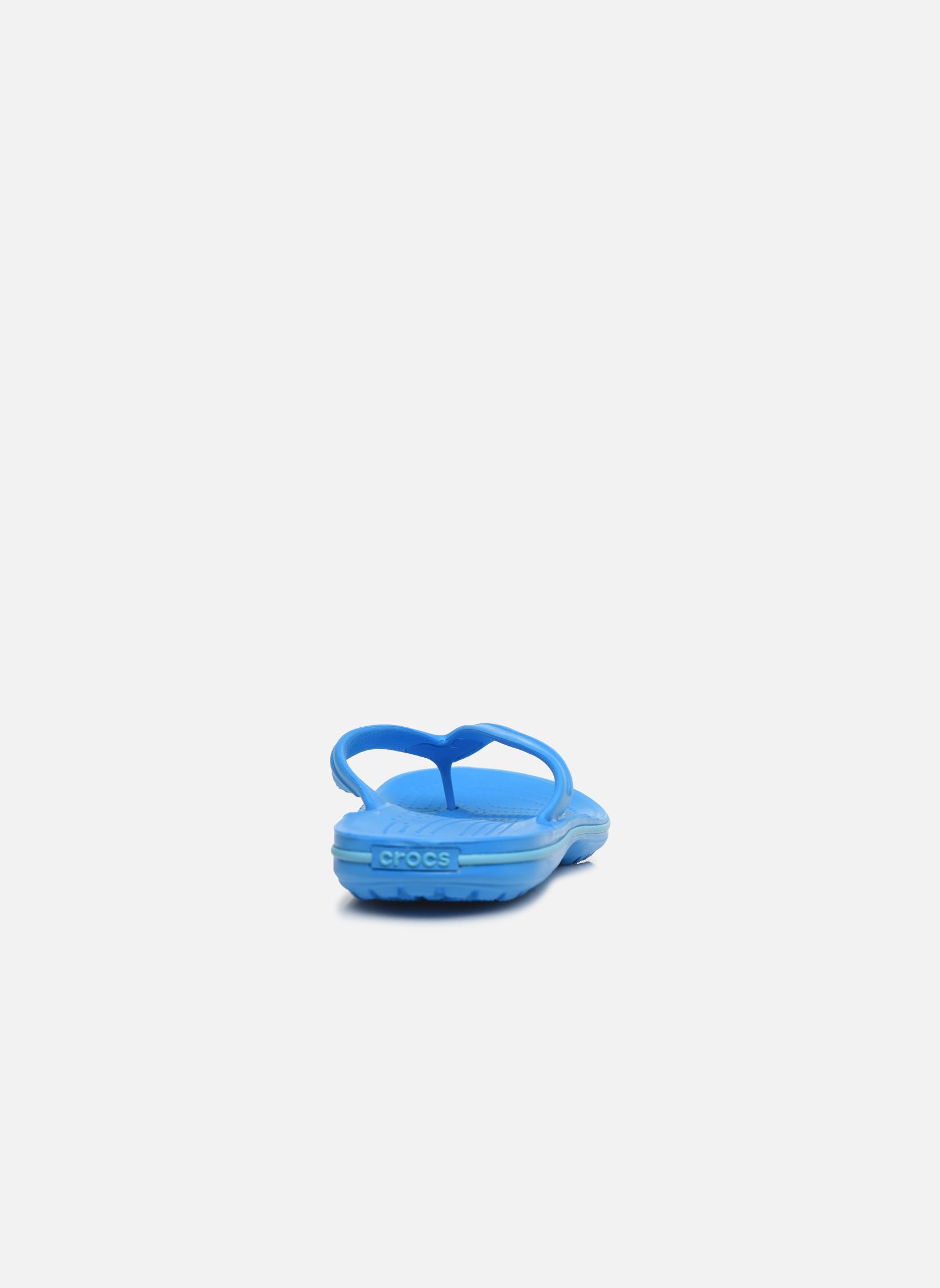 Tongs Crocs Crocband Flip M Bleu vue droite
