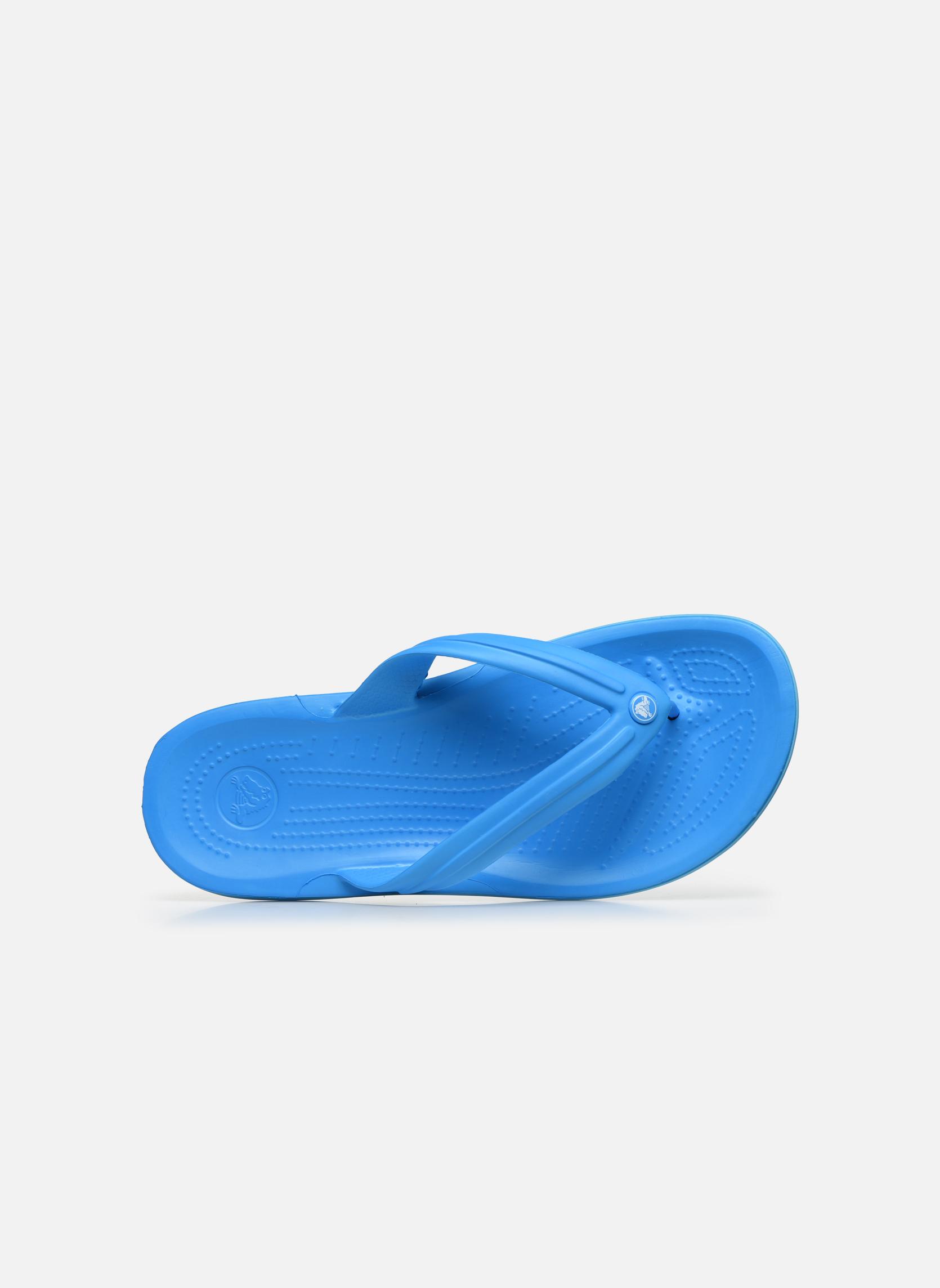 Flip flops & klipklapper Crocs Crocband Flip M Blå se fra venstre