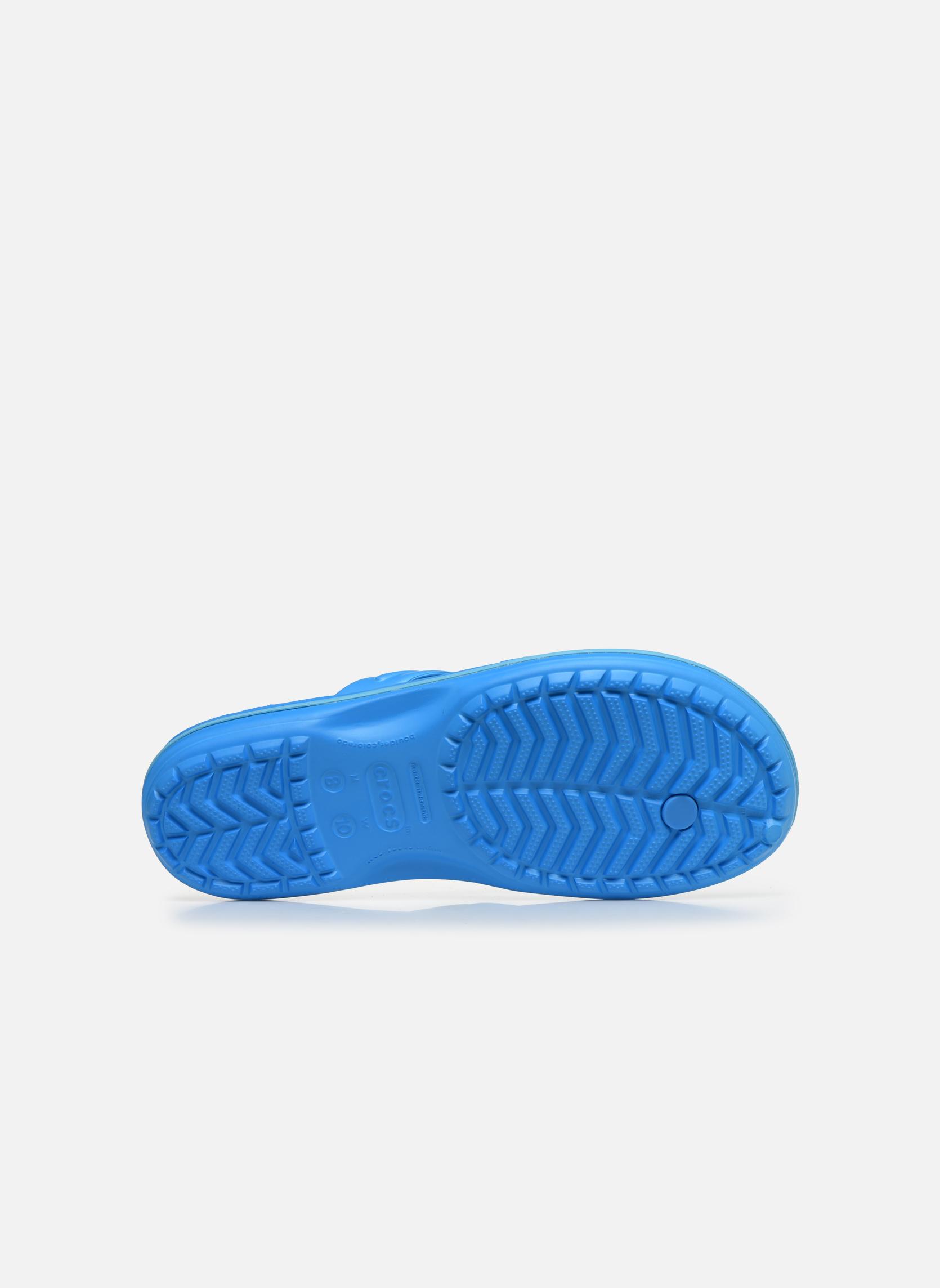 Infradito Crocs Crocband Flip M Azzurro immagine dall'alto