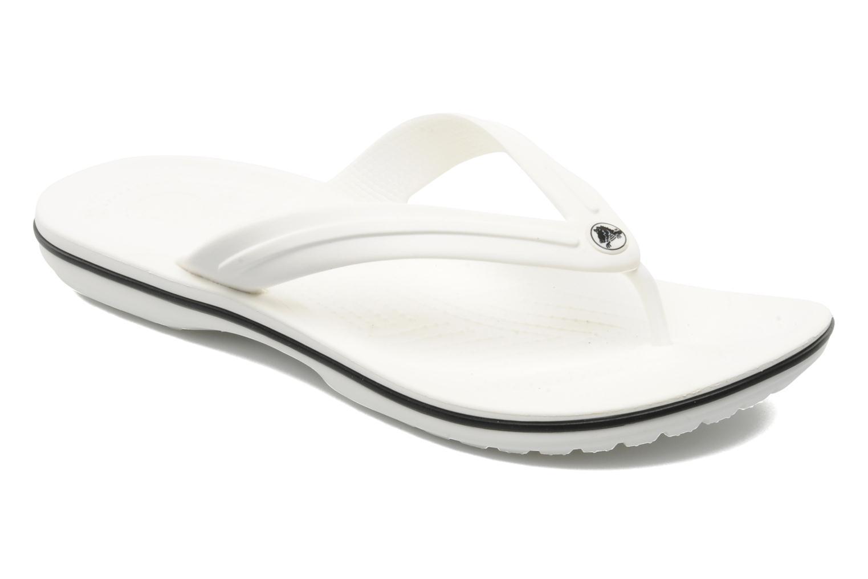 Flip flops Crocs Crocband Flip M White detailed view/ Pair view
