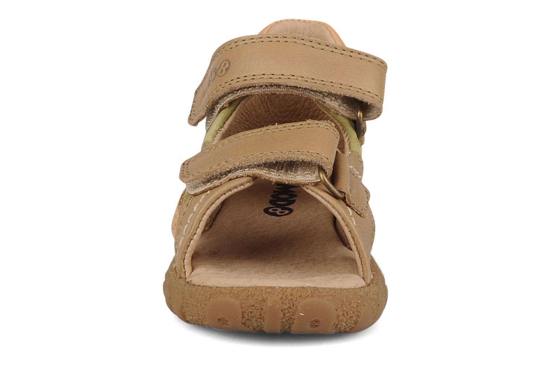 Sandales et nu-pieds Mod8 Batofar Beige vue portées chaussures