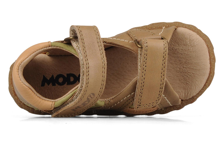 Sandales et nu-pieds Mod8 Batofar Beige vue gauche