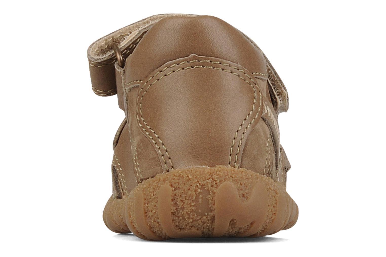 Sandales et nu-pieds Mod8 Batofar Marron vue droite