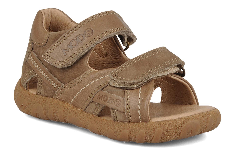 Sandales et nu-pieds Mod8 Batofar Marron vue détail/paire