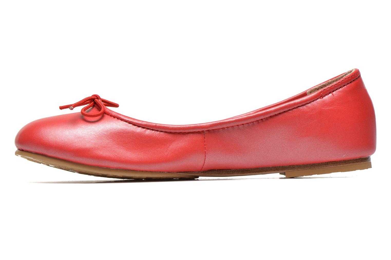 Ballerinas Bloch Arabella rot ansicht von vorne