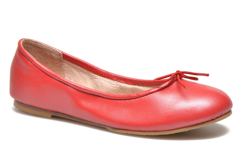 Ballerinas Bloch Arabella rot detaillierte ansicht/modell