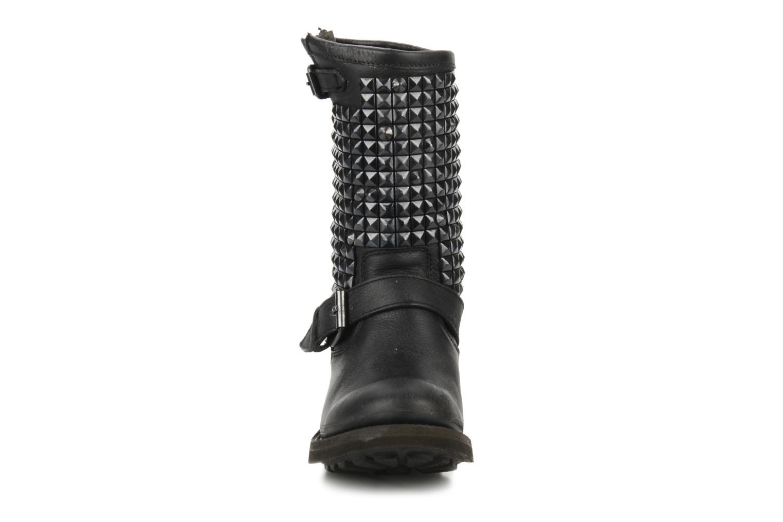 Bottines et boots Ash Trash bis Noir vue portées chaussures