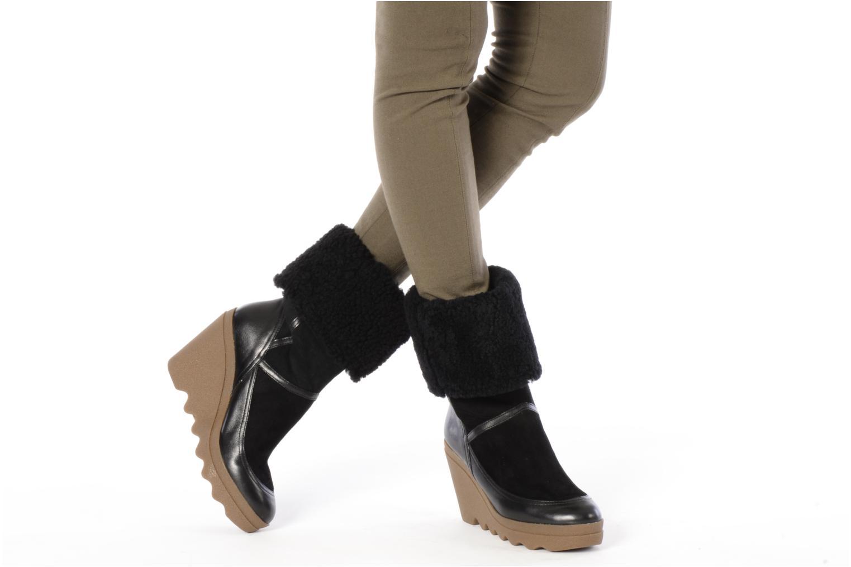 Stiefeletten & Boots Ash Varuska schwarz ansicht von unten / tasche getragen