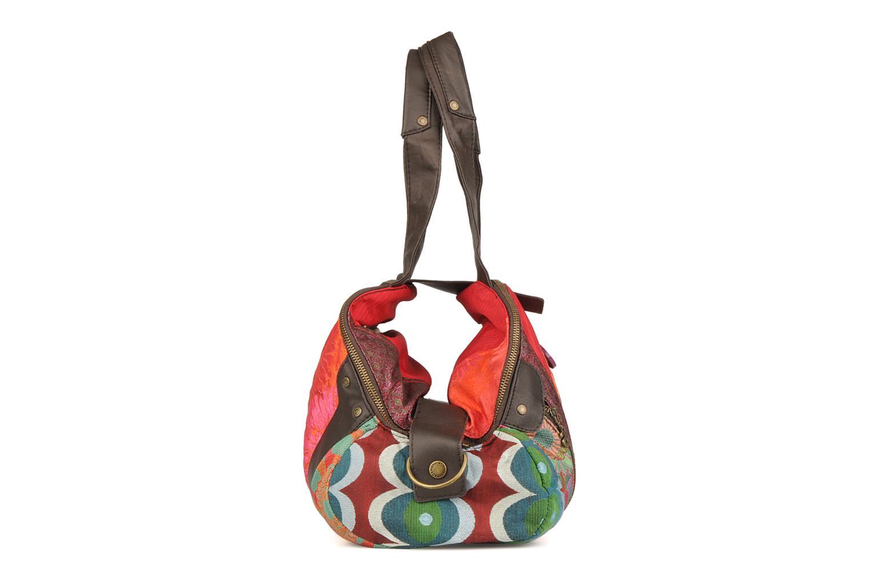 Borse Desigual Indou Multicolore modello indossato