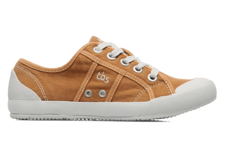 Sneakers TBS Opiace Bruin achterkant