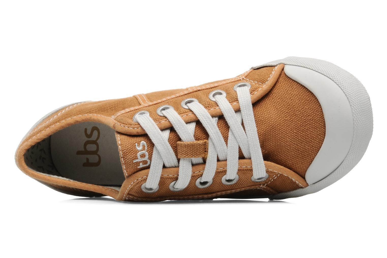 Sneakers TBS Opiace Bruin links