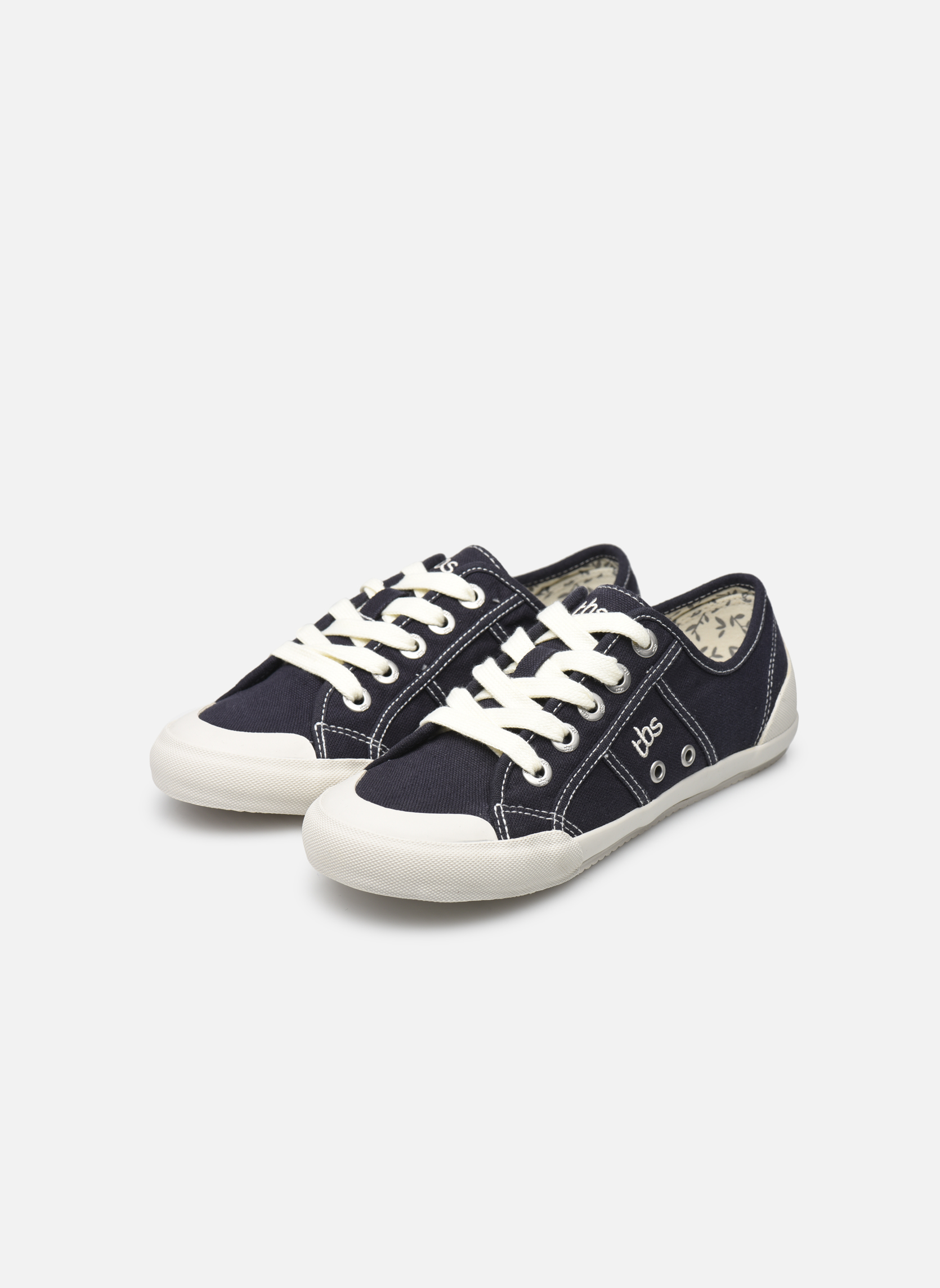 Sneaker TBS Opiace blau ansicht von unten / tasche getragen